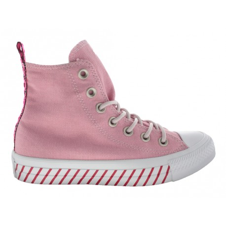 Scarpe Converse Ct as hi righe donna rosa