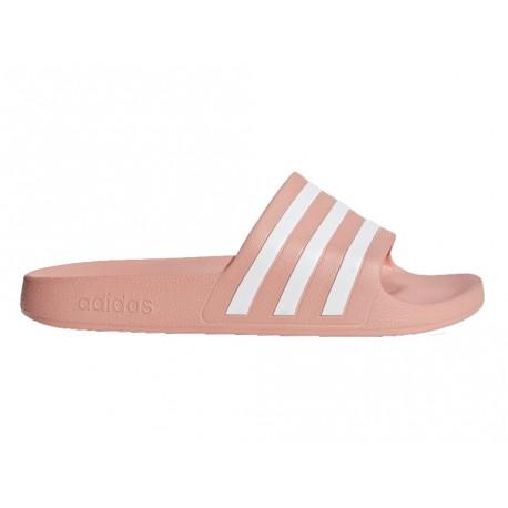 Ciabatte Adidas Adilette slide-on donna rosa