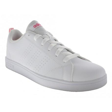 Scarpe Adiadas Vs Advantage Clean da donna bianco rosa