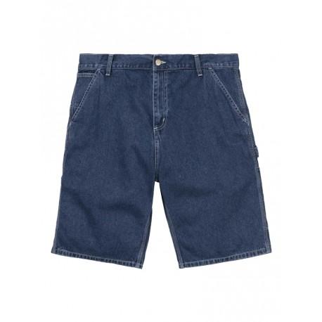 Bermuda Carhartt uomo Ruck Single Knee short jeans dark sw