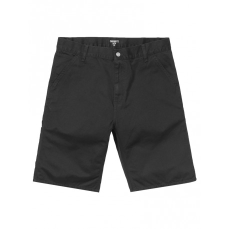 Bermuda Carhartt uomo Ruck Single Knee short nero
