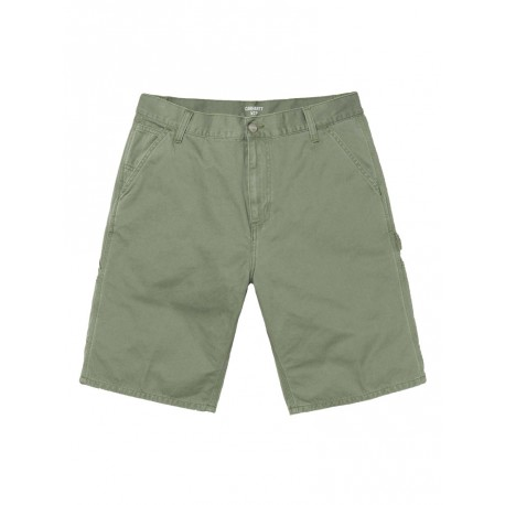 Bermuda Carhartt uomo Ruck Single Knee short verde