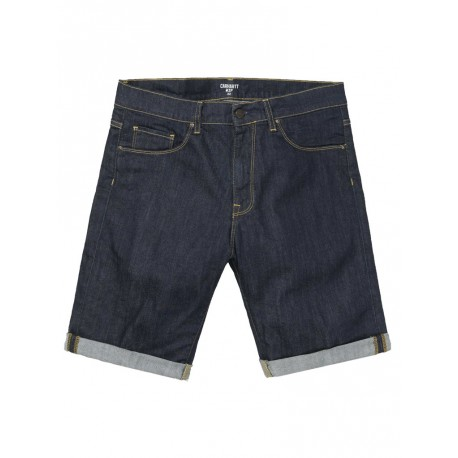 Bermuda Carhartt uomo Swell short jeans one wash
