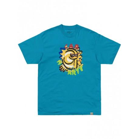 T shirt Carhartt uomo Touri turchese