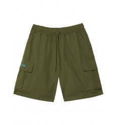 Bermuda Iuter Jogger Cargo shorts da uomo verde