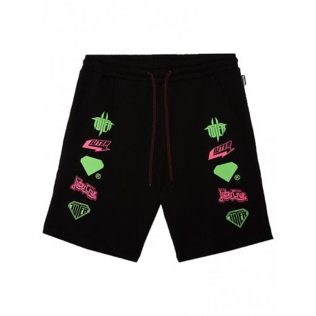 Bermuda Iuter Horns shorts da uomo nero
