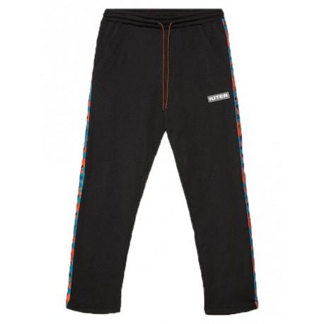 Pantaloni tuta Iuter Ribbon track pants da uomo nero