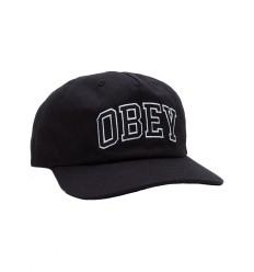Cappelli Obey con visiera Dropout da uomo nero