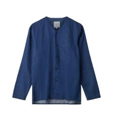 Camicia Minimum Kamper da uomo blu