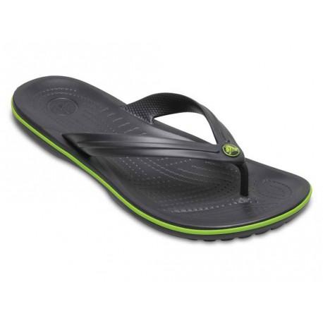 Infradito Crocs crocband flip uomo grigio scuro