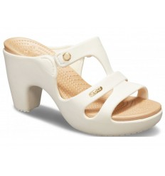 Sandali Crocs Cyprus V hell woman donna beige