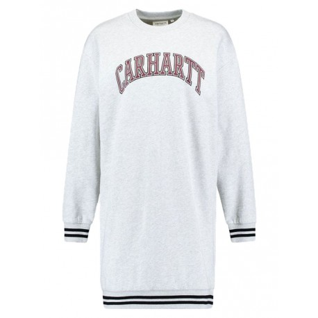 Vestito Carhartt Knowledge sweatshirt da donna grigio