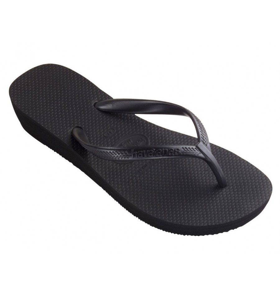 40010300090 Havaianas Con Infradito Da Zeppa Light Donna Nero High 1cKJ3TFl