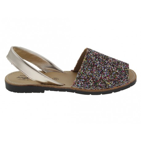 Sandali donna Angelitos 204 maiorchine multicolore