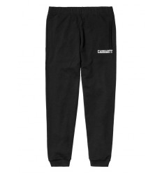 Pantaloni tuta Carhartt College estate uomo nero