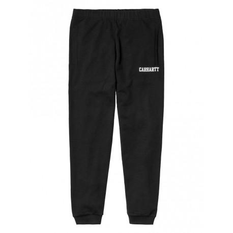 Pantaloni tuta Carhartt College uomo nero