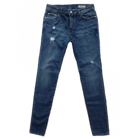 Jeans Derriere Easy T191 da uomo lived blu
