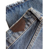 Jeans Derriere Biggie T163 da uomo destroyed blu