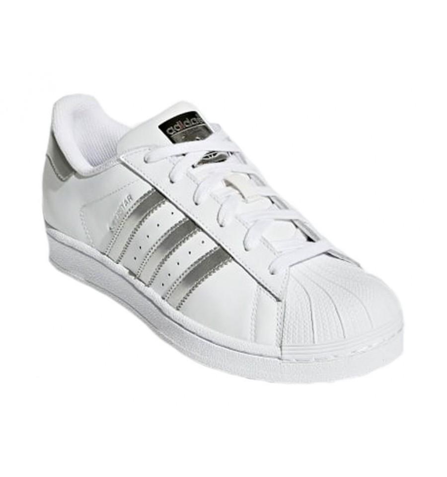 adidas argento superstar