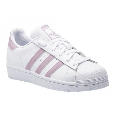 adidas superstar en rosa