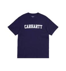 T shirt Carhartt College uomo viola