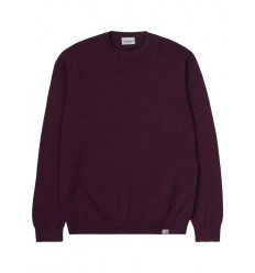 Maglione Carhartt Playoff sweater uomo bourdeaux