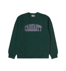 Felpa Carhartt Theory Sweatshirt uomo donna verde