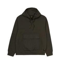 Felpa Carhartt Hooded Klicks Sweatshirt uomo verde scuro