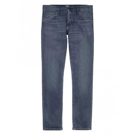 Jeans Carhartt Rebel pant uomo blue mid worn wash