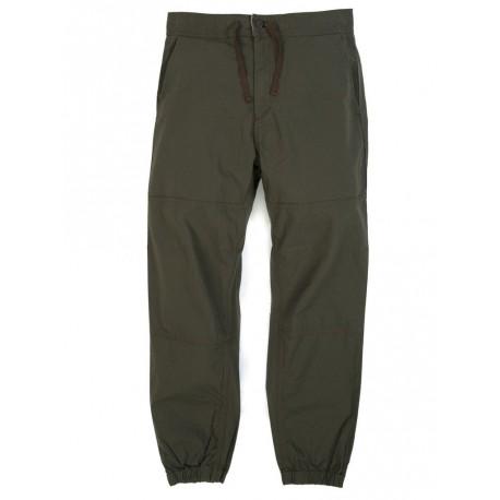 Pantalone Carhartt Marshall jogger uomo verde