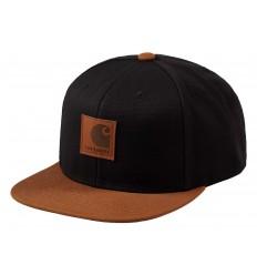 Carhartt Cappello con visiera Logo cap Bi-colored uomo nero
