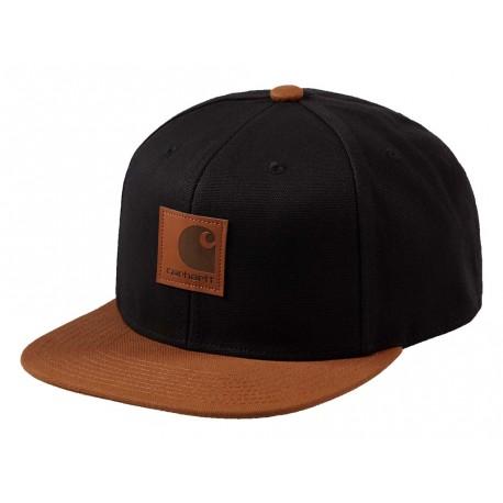 Cappello con visiera Carhartt Logo cap Bi-colored uomo nero