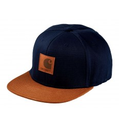 Carhartt Cappello con visiera Logo cap Bi-colored uomo blu