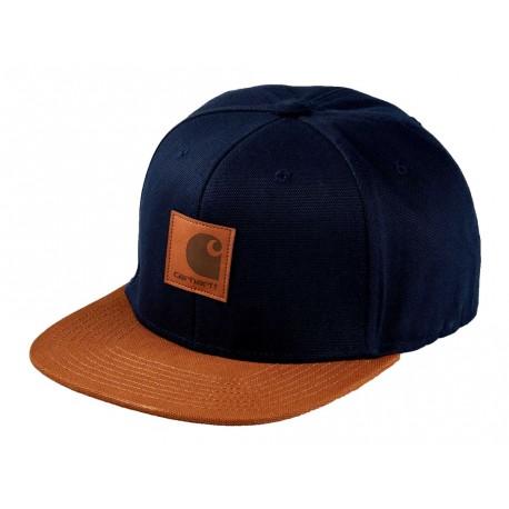 Cappello con visiera Carhartt Logo cap Bi-colored uomo blu