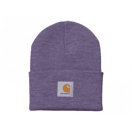 Cappello Carhartt Acrylic Watch Hat heather uomo donna viola