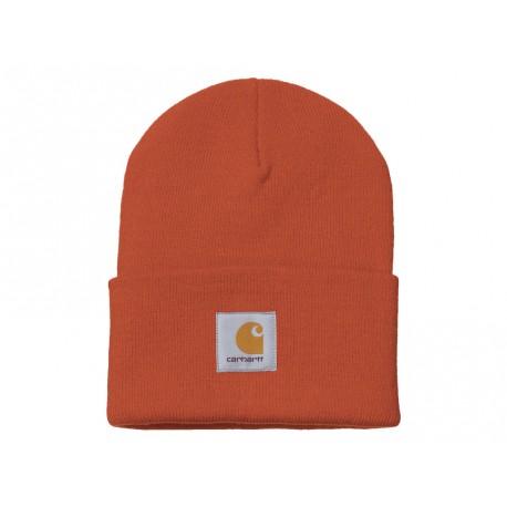 Cappello Carhartt Acrylic Watch Hat uomo donna invernale arancione