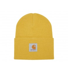 Carhartt Cappello Acrylic Watch Hat uomo donna giallo