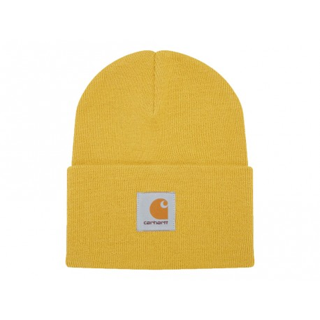 Cappello Carhartt Acrylic Watch Hat heather uomo donna giallo