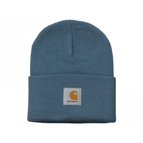 Cappello Carhartt Acrylic Watch Hat heather uomo donna azzurro
