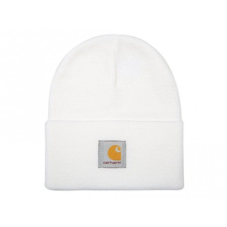 Cappello Carhartt Acrylic Watch Hat uomo donna invernale bianco