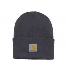 Carhartt Cappello Acrylic Watch Hat uomo donna grigio scuro