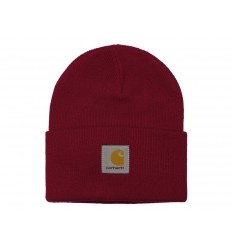 Carhartt Cappello Acrylic Watch Hat uomo donna rosso