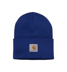 Carhartt Cappello Acrylic Watch Hat uomo donna azzurro thunder