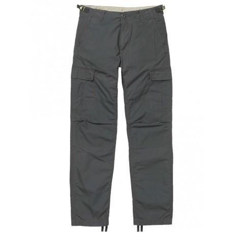 Pantaloni Carhartt Aviator pant grigio scuro