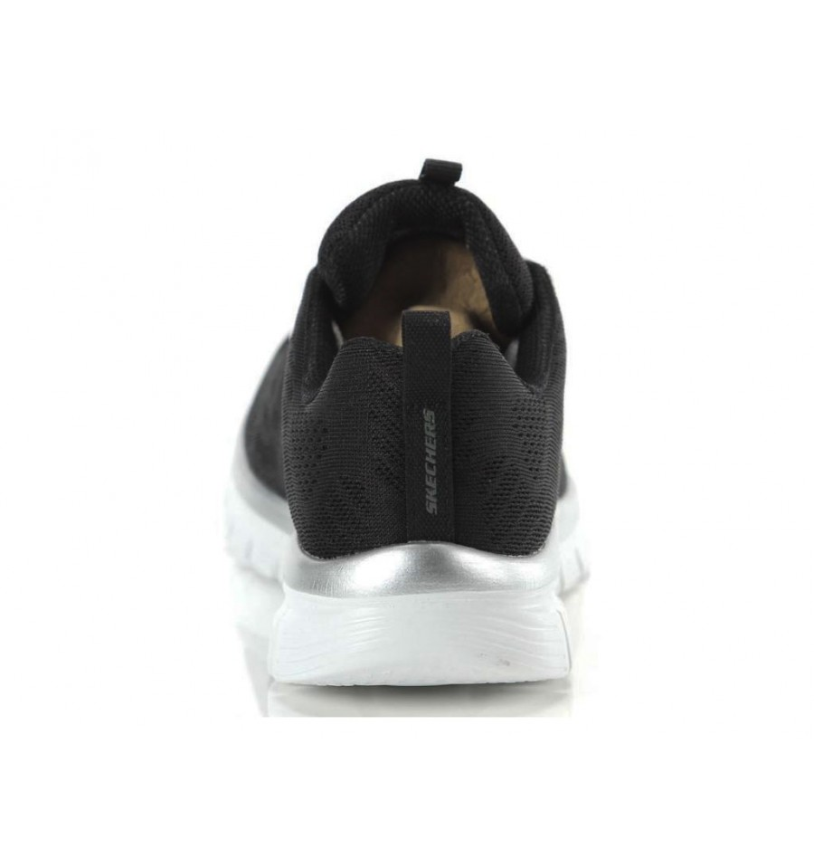 Scarpe Skechers Graceful gel Connected da donna nero soletta Memory Foam e lacci | eBay