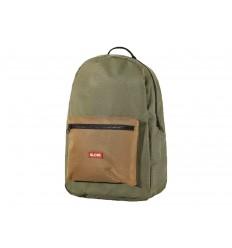 Zaino Globe Deluxe Backpack scuola verde