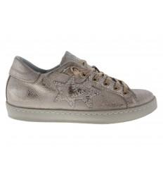 Scarpe 2Star da donna glitter bronzo