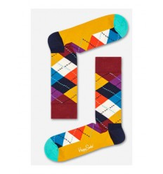 Happy Socks Argyle calzino uomo multicolore rombi
