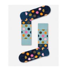 Happy Socks Big Dot calzino donna blu pois