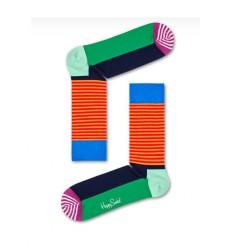 Happy Socks Half stripe calzino uomo multicolore